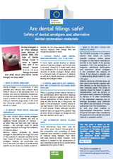 Dental Fillings foldout